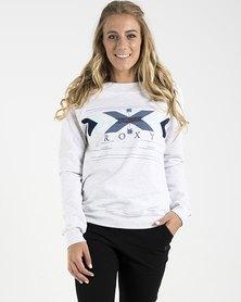 Roxy Hollow Dance Crew Pullover Sweatshirt