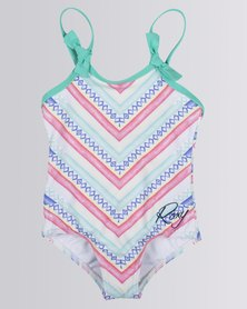 Roxy Tods Palmo One-Piece Swimming Costume