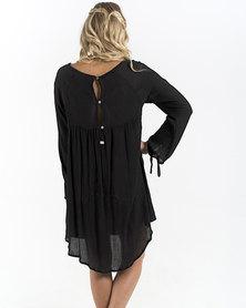 Roxy Definitely Maybe Dress Black