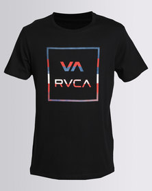 RVCA Stringer All The Way Tee Black