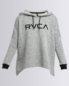 RVCA Big RVCA Flock North Hoodie Grey