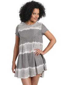 RVCA Tripper Dress Grey