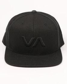RVCA VA Snapback II Black