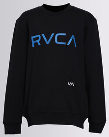 RVCA Shade RVCA Crewneck Sweater Black