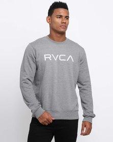 RVCA Big RVCA Crew Sweatshirt Grey