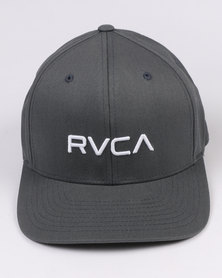 RVCA Flex Fit Grey