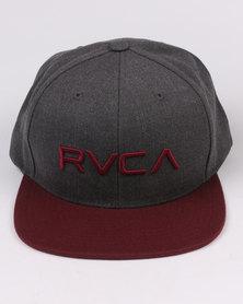 RVCA Twill Snapback Multi