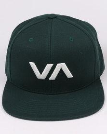 RVCA VA Snapback II Green
