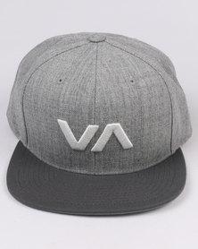 RVCA VA Snapback II Grey