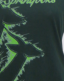 SA Rugby Scoop Neck Graphic T-Shirt Green