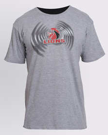 Lions Graphic T-Shirt Grey