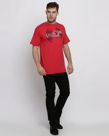 Lions Graphic T-Shirt Red