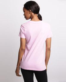 Bulls Nailhead Graphic T-Shirt Pink