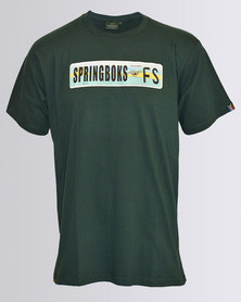 SA Rugby Short Sleeve Graphic T-Shirt Green