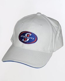 SA Rugby Stormers 6 Panel Cap White