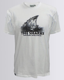 The Sharks Graphic T-Shirt White