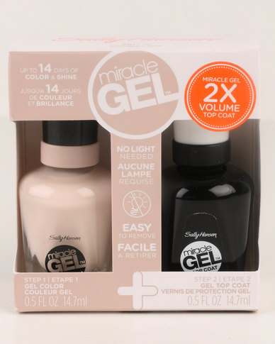 Sally Hansen Miracle Gel Nail Polish Duo Nude