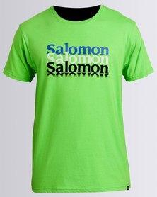 Salomon Sure Thing Short Sleeve T-Shirt Green