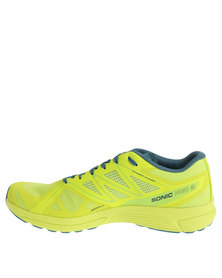 Salomon Sonic Pro 2 Running Shoes Lime/Blue