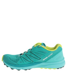 Salomon Sense Marin Running Shoes Blue/Lime