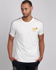 Santa Monica Polo Club Pyro T-Shirt White