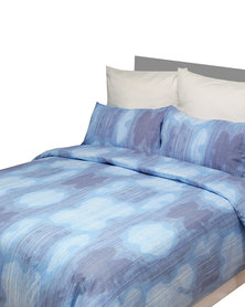 Sheraton Denim Duvet Cover Set Blue