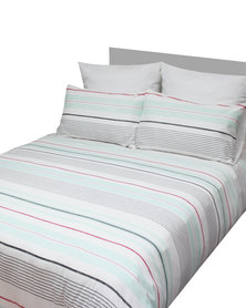Sheraton Fizzle Duvet Cover Set Multi