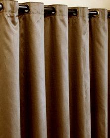 Sheraton Eyelet Curtain Choca