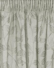 Sheraton Climbing Leaf Curtain Grey