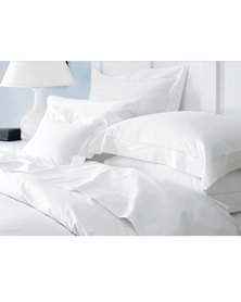 Sheraton Oxford Duvet Cover Set 200TC White