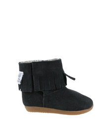 Shooshoos Tassel Winter Boots Black
