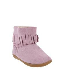 Shooshoos Autumn Winter Boots Pink