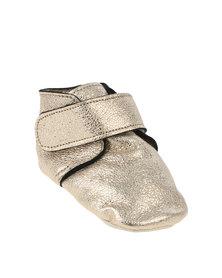 Shooshoos Harriot Pull On Prewalker Limited Edition Shoes Gold