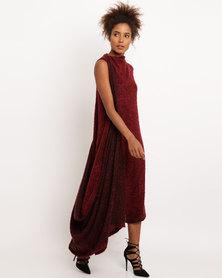 SIESisabelle Anneme Dress Burgundy