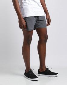 Silent Theory Numero Pull On Shorts Navy
