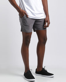 Silent Theory Numero Pull On Shorts Purple