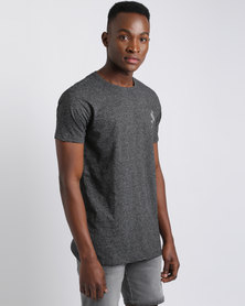 Silent Theory Praxis T-Shirt Charcoal Texture