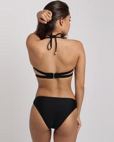 Sissy Boy Underwire Double Bikini Top Black