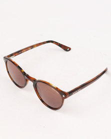 Sissy Boy Oval Shape Sunglasses Brown