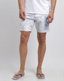 Smith & Jones Decible Shorts White