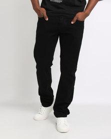 Smith & Jones Borromini Slim Jeans Black Wash