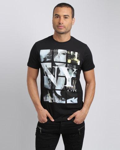 Smith & Jones NY City T-Shirt Black