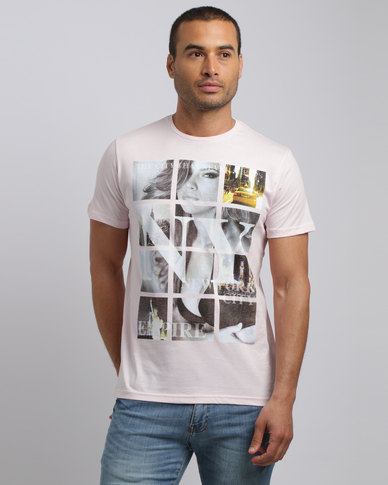 Smith & Jones NY City T-Shirt Pastel Pink