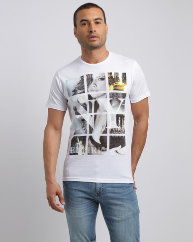 Smith & Jones NY City T-Shirt White