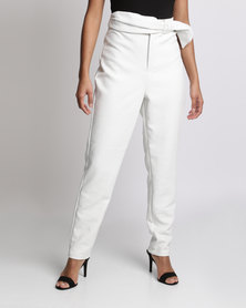 Smudj Rock On Pants White