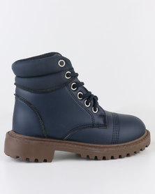 Soviet K New Cross Boot Navy