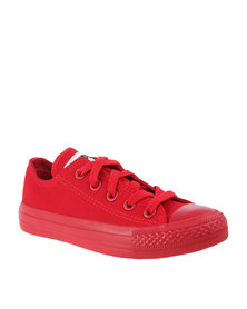 Soviet Viper Low Youth Sneakers Red