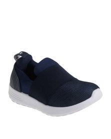Soviet K Trim Pull On Sneaker Blue