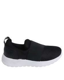 Soviet K Trim Pull On Sneaker Black