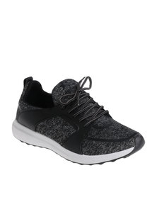 Soviet Coventry Casual Low Cut Lace Up Sneaker Black